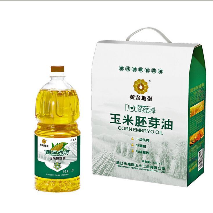 title='1.8L玉米胚芽油内蒙特产清香玉米油 食用油 非调和油'