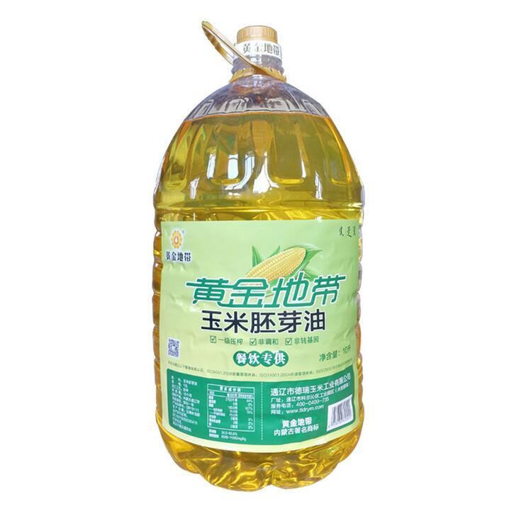L清香玉米胚芽油非轉基因玉米油10L 純正一級玉米油胚芽油