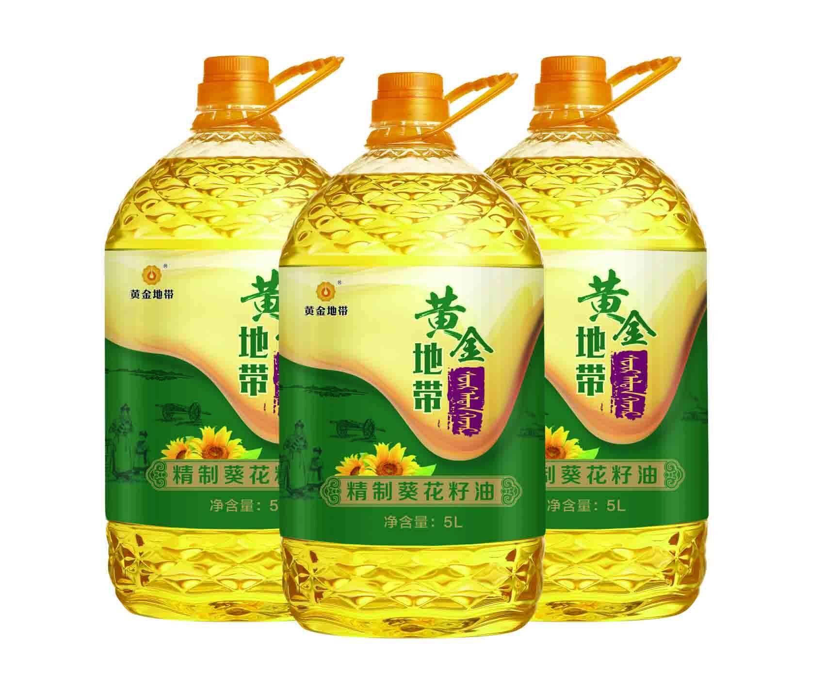 5L精制葵花籽油